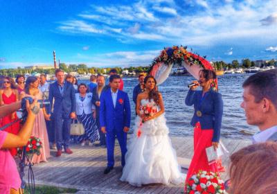 Свадебное торжество в ресторане Мед