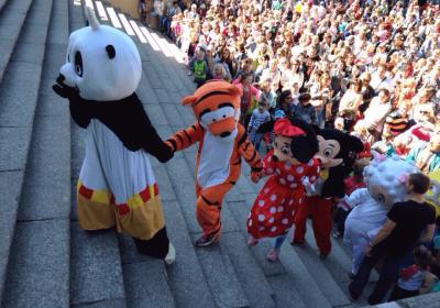 III Фестиваль ростовых кукол Союз Мультфильмов 2015